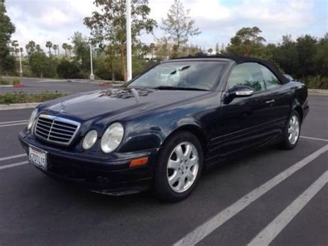buy car manuals 2002 mercedes benz clk class spare parts catalogs buy used 2002 mercedes benz clk320 base convertible 2 door 3 2l in irvine california united states
