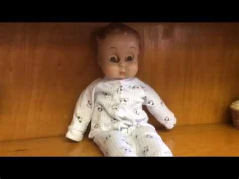 haunted doll moving creepy scary doll moving haunted