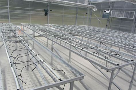 greenhouse bench heating greenhouse bench seed bed heating system trinog xs