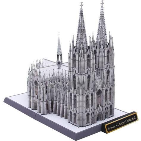Papercraft Architecture - germany cologne cathedral papercraft model