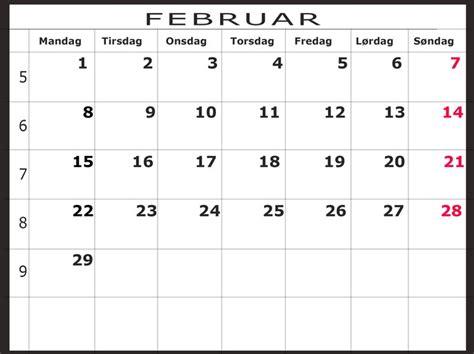 Kalender 2016 Februar Februar 2016 Scamclip