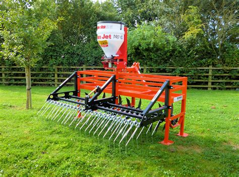 Pasture Planter by Grassland Renovator Grass Harrows Grassland Aerators