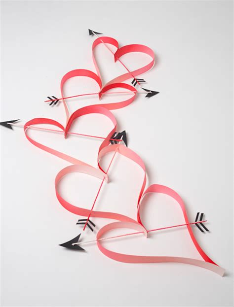 How To Make A Chain Of Hearts Out Of Paper - valentine s day grab bag diy gifts decor and more for