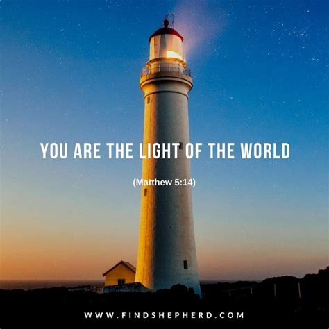 You Are The Light you are the light of the world matthew 5 14