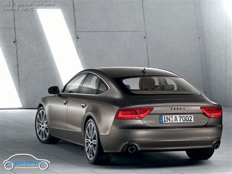 Audi A7 Erfahrungsbericht by Foto Bild Audi A7 Sportback Heckansicht Angurten De
