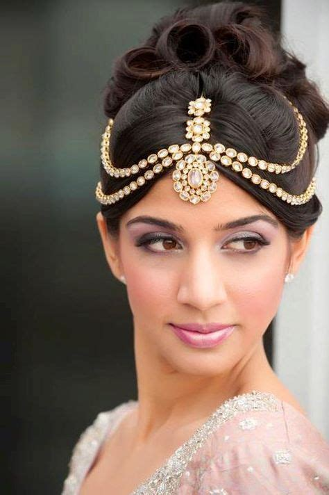indian bridal hairstyles accessories mathapatti the indian wedding guide