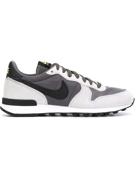 nike internationalist sneaker lyst nike internationalist sneakers in black