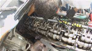 how to replace an injector on a semi truck volvo d16