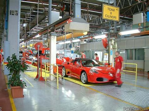 Ferrari World Working Hours by Inside The Ferrari Factory Mechanical Electrical