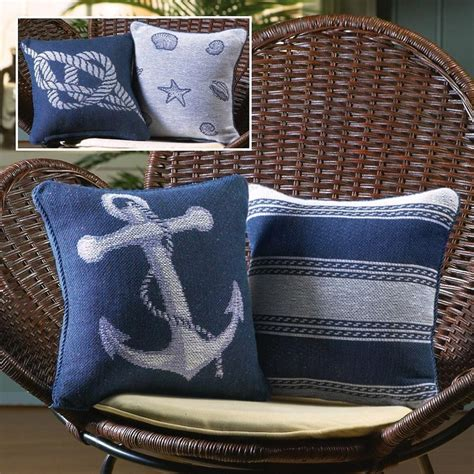 Themed Pillows by Nautical Themed Throw Pillows