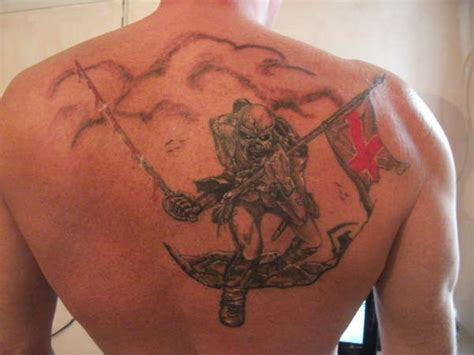 tattoo angel birkenhead iron maiden quot the trooper quot jpeg tattoo
