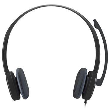 Logitech Stereo Headset H 151 logitech stereo headset h151 black jakartanotebook