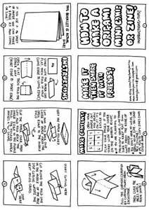 Zine Template Word by How To Make A Mini Zine C R A F T I D E A S