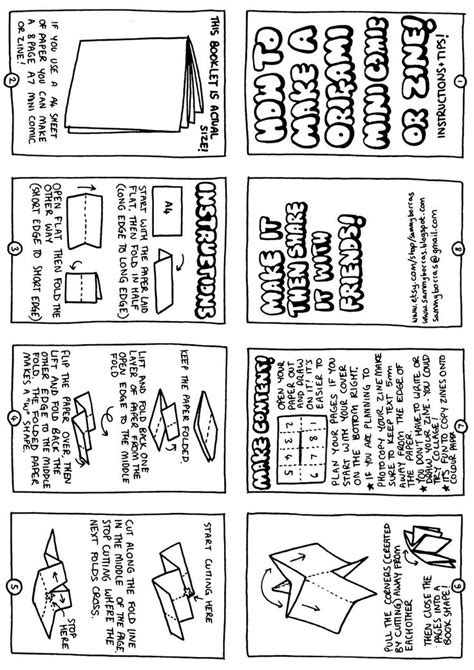 printable zines how to make a mini zine c r a f t i d e a s