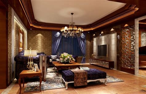 Luxury Living Room Decor by European Style Luxury Living Room Interior Design With