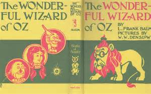 Pics photos the wonderful wizard of oz book cover