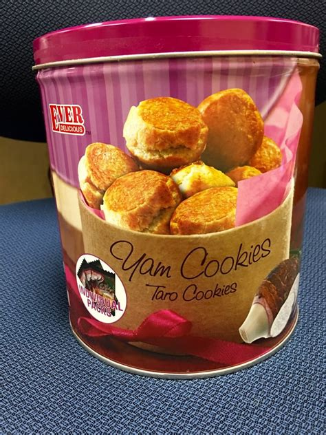 Delcious Yam Cookies distributor of delicious industries yam taro cookies