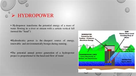 3 types of power types of hydro power plants