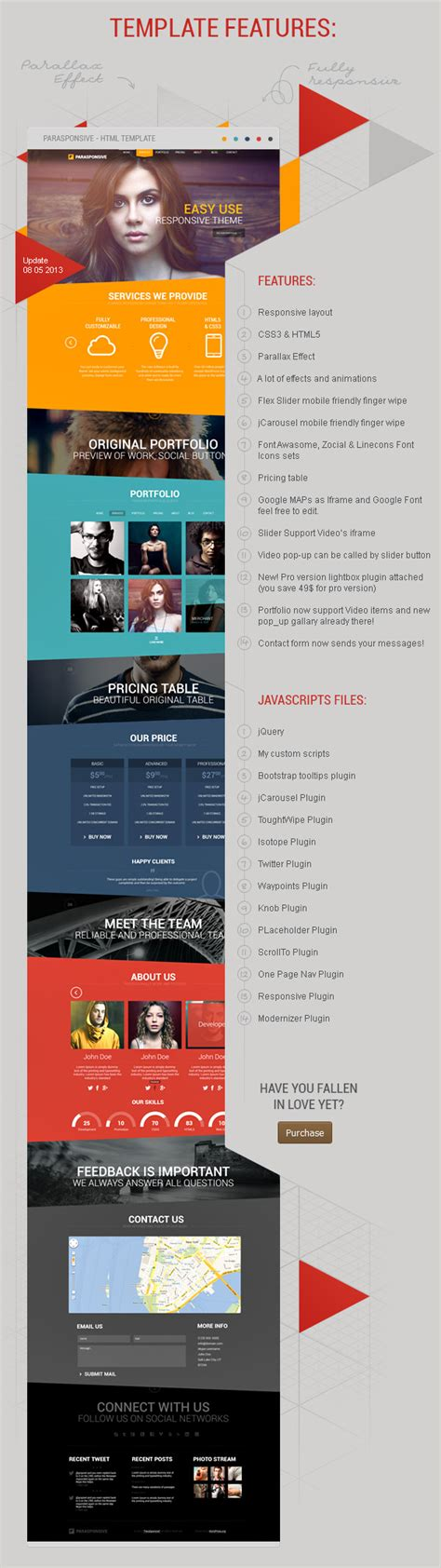 layout css3 free download free parasponsive html5 css3