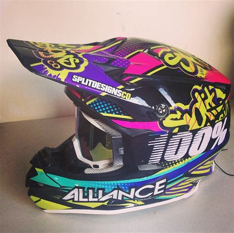 custom motocross helmet wraps just got my helmet wrap moto related motocross