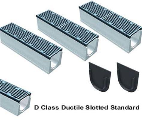 6 wide channel brute drain system with integral cast iron rail max200 06 8 quot wide maxi 200 fiber reinforced concrete kit