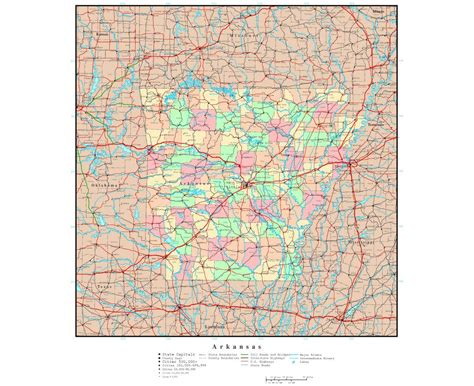 arkansas in usa map maps of arkansas state collection of detailed maps of