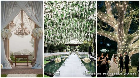 decorating home for wedding 23 stunningly beautiful decor ideas for the most breathtaking indoor outdoor wedding