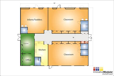 Daycare Floor Plan | day care designs floor plans day care floor plans pinterest day care daycare design and scale