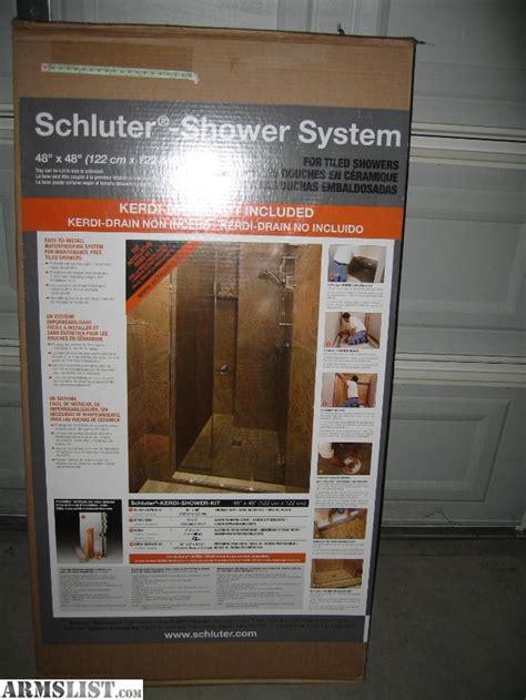 Schluter Kerdi Shower Kit Price by Armslist For Sale Trade Brand New Schluter Kerdi Shower