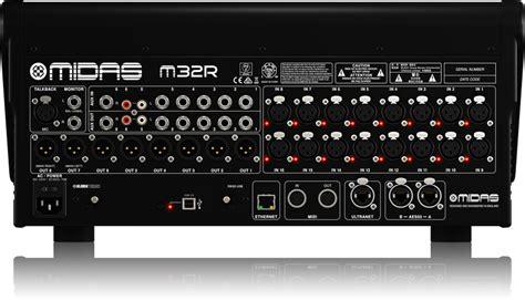 Mixer Midas M32 m32r digital mixers mixers midas categories