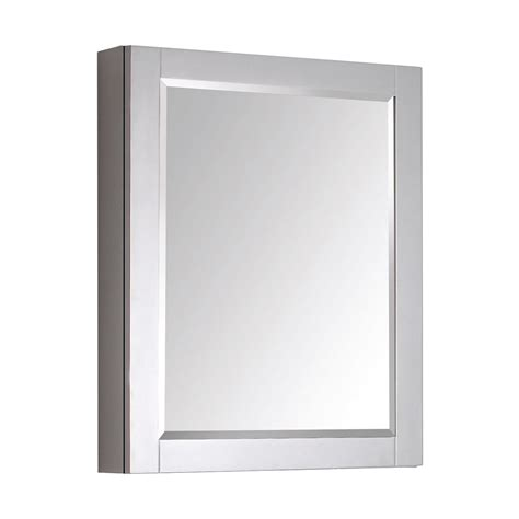 lowes bathroom mirror cabinet avanity 14000 mc24 24 in bathroom mirror cabinet lowe s