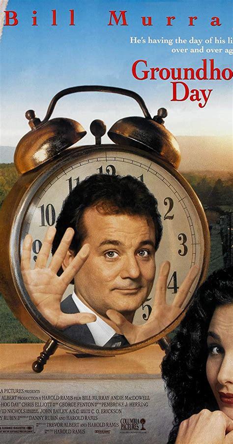Groundhog Day (1993) - IMDb In Time Movie Clock