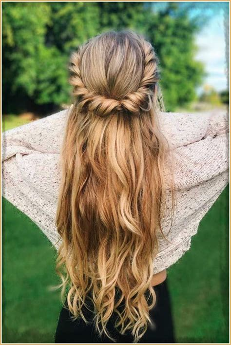 cute hairstyles for a rodeo hairstylegalleries com peinados sencillos pelo largo imagenes de peinados faciles