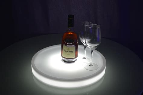 best light up waterproof led light up serving tray multi colors
