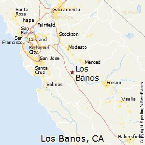 map of los banos california best places to live in los banos california