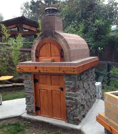 how to build a backyard brick oven outdoor brick ovens 16 easy to replicate ideas houz buzz