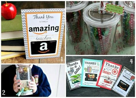Teacher Gift Card Ideas - teacher gifts ideas for gifts that teachers will love