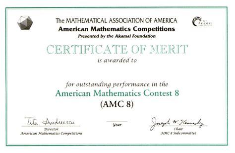 awards for the amc 10 amc 12 contests aime amp usamo