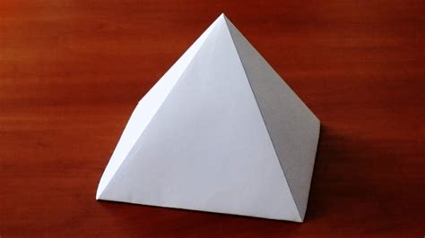 paper pyramid craft paper pyramid craft gallery craft decoration ideas