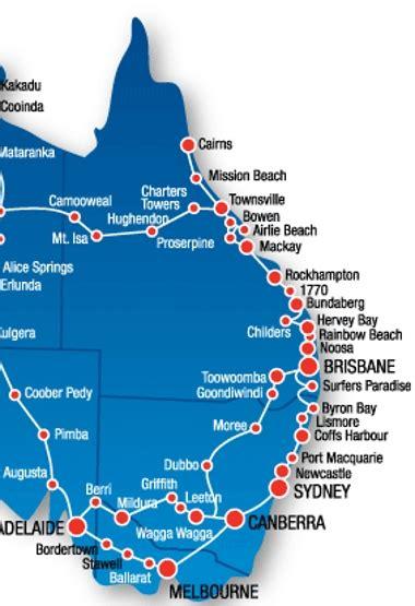 australia east coast map backpacking east coast australia by hayley zeef