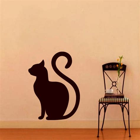 vinyl decals for home decor wall decals cat decal vinyl sticker home decor pets shop cat