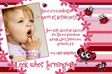 baby birthday invitation card template birthday invitation card birthday invitations
