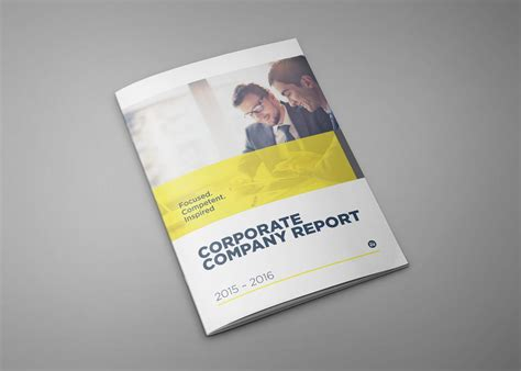 design company profile booklet modern corporate brochures company profile reports by