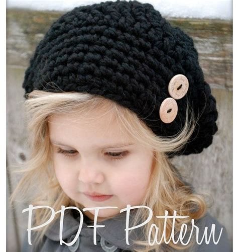 crochet pattern zoie slouchy toddler child and