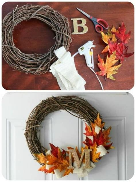 Diy Fall Wreaths Design Ideas Diy Craft Ideas For Fall 45 Pics