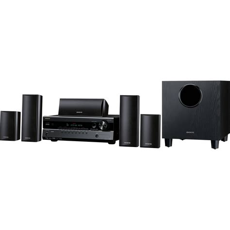 onkyo ht s3300 5 1 channel home theater system ht s3300 b h