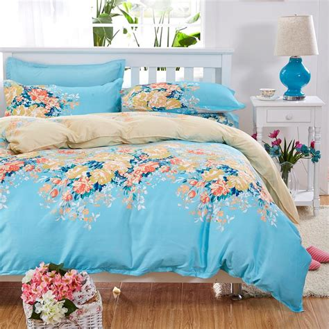 Elegant Floral Bedding Set Polyester Cotton Bed Linen Sets Bedding Sets For Beds