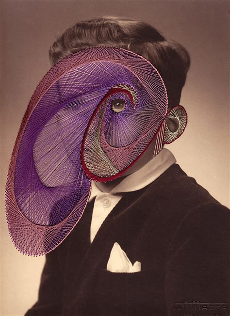 arts drawing photos maurizio anzeri embroidered photographs