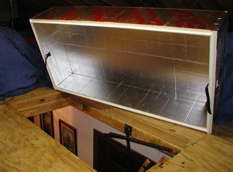 Attic Door Insulation Cover Lowes by Opinions Etc Sought Attic Tents