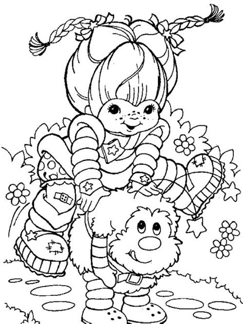 Rainbow Bright Coloring Pages Chibi Rainbow Brite Coloring Pages Coloring Pages by Rainbow Bright Coloring Pages